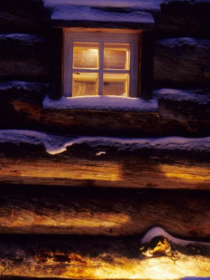 Finnish's Window, Lapland, Finland-Daisy Gilardini-Photographic Print