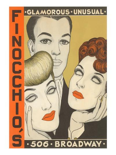Finocchio's Show Advertisement--Art Print