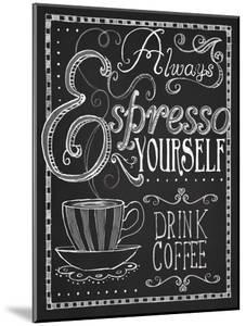 Espresso Yourself by Fiona Stokes-Gilbert