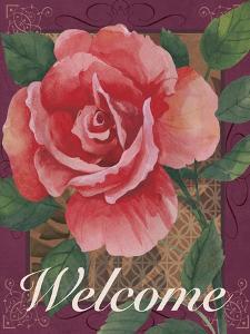 Framed Rose by Fiona Stokes-Gilbert