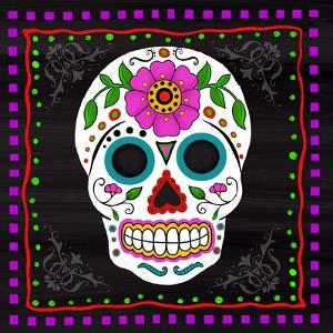 Sugar Skull II by Fiona Stokes-Gilbert