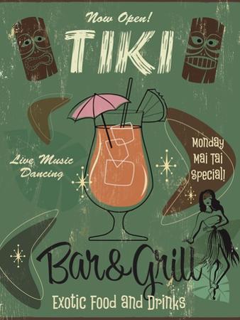Tiki Bar and Grill B by Fiona Stokes-Gilbert