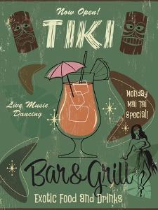 Tiki Bar and Grill B by Fiona Stokes-Gilbert