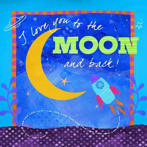 To the Moon by Fiona Stokes-Gilbert