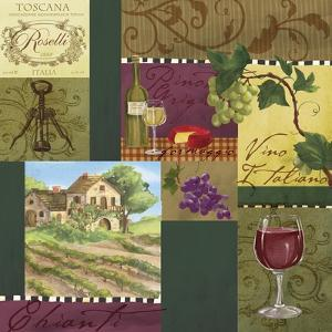 Wine Panels by Fiona Stokes-Gilbert