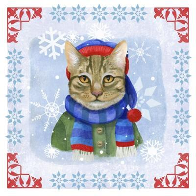 Winter Cat by Fiona Stokes-Gilbert