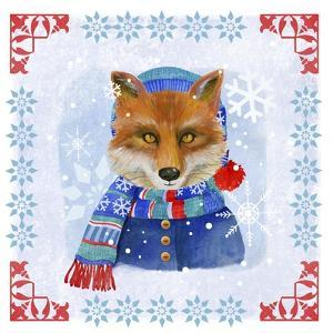 Winter Fox by Fiona Stokes-Gilbert
