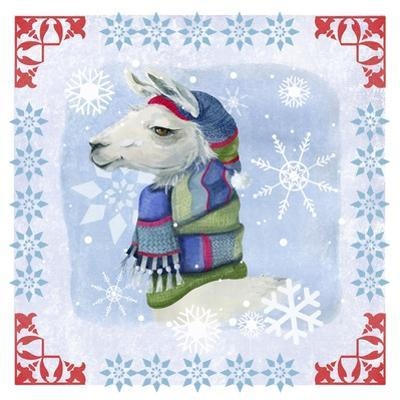 Winter Llama by Fiona Stokes-Gilbert