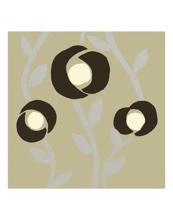 Fiori Olive-Denise Duplock-Art Print
