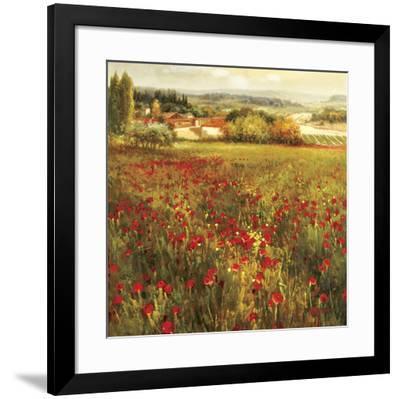 Fiori Piccoli.Fiori Piccoli Stretched Canvas Print By K Solaman Art Com