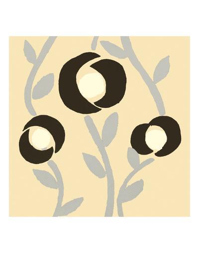 Fiori Vanilla-Denise Duplock-Art Print