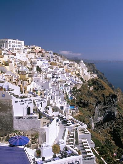 Fira, Island of Santorini (Thira), Cyclades Islands, Aegean, Greek Islands, Greece, Europe-Sergio Pitamitz-Photographic Print