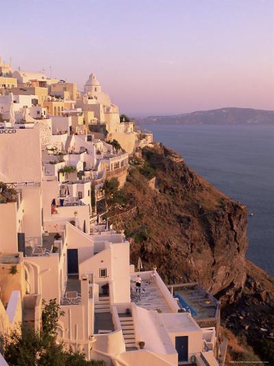 Fira, Santorini (Thira), Cyclades Islands, Aegean Sea, Greece, Europe-Sergio Pitamitz-Photographic Print