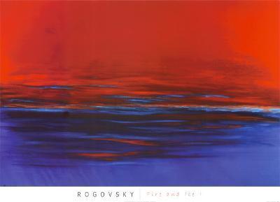 Fire and Ice I-Michael Rogovsky-Art Print