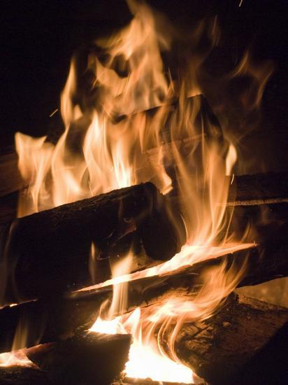 Fire and Wood-Daniel Root-Photographic Print