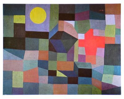 Fire at Full Moon, 1933-Paul Klee-Art Print