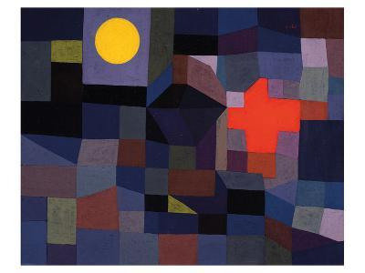 Fire at Full Moon 1933-Paul Klee-Art Print