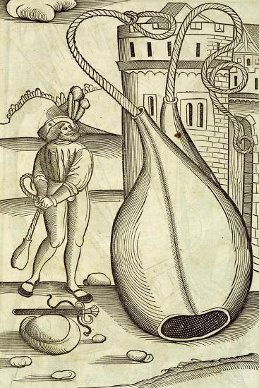Fire-Bags, Engraving from De Re Militari--Giclee Print