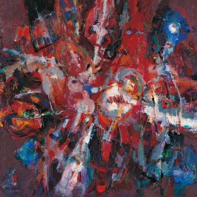 Fire Burning Out-Renato Birolli-Giclee Print