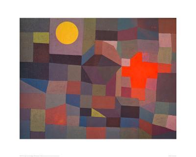 Fire by Moonlight, 1933-Paul Klee-Giclee Print