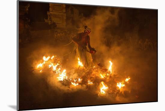 Fire Dancer-Angela Muliani Hartojo-Mounted Photographic Print