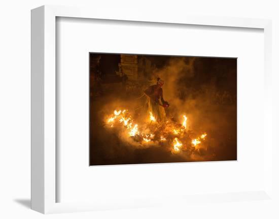 Fire Dancer-Angela Muliani Hartojo-Framed Photographic Print