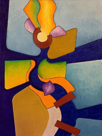 Fire-Eater, Female, 2007-Jan Groneberg-Giclee Print