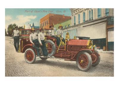 Fire Equipment, Alton, Illinois--Art Print