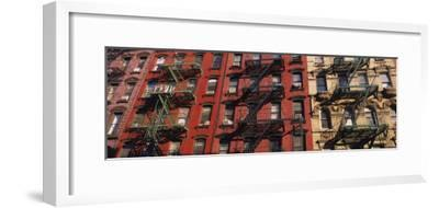 Fire Escapes on Buildings, Little Italy, Manhattan, New York City, New York, USA