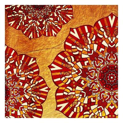 Fire Flowers-Jace Grey-Art Print