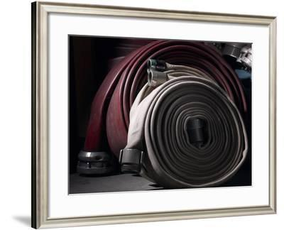 Fire Hoses--Framed Photographic Print