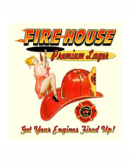 Fire House Lager--Giclee Print