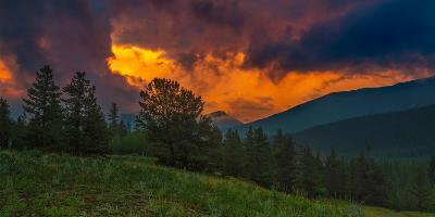 Fire in Sky-Rui Xu-Photographic Print