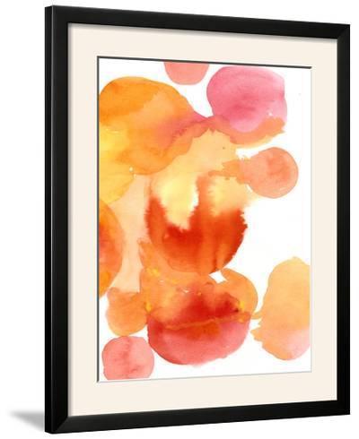 Fire Water II-Deborah Velasquez-Framed Photographic Print