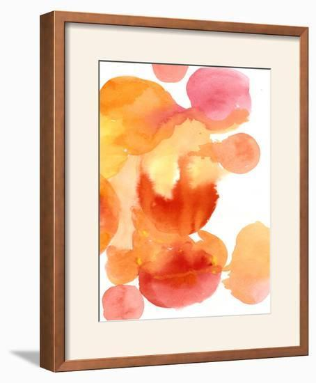 Fire Water II-Deborah Velasquez-Framed Photographic Print