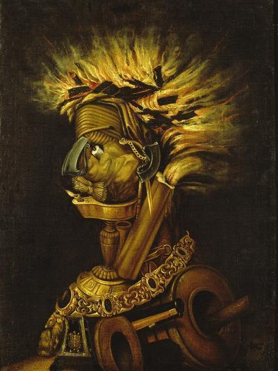Fire-Giuseppe Arcimboldo-Giclee Print