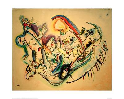 Firebird, 1916-Wassily Kandinsky-Giclee Print