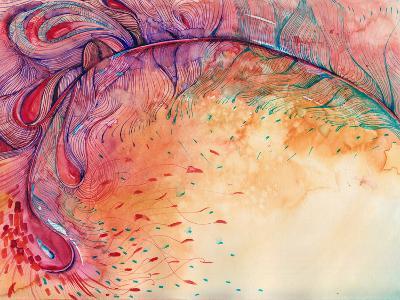 Firebird-okalinichenko-Art Print