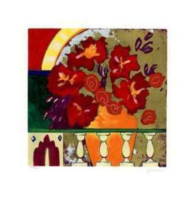 Firecracker Floral I-Elizabeth Jardine-Collectable Print