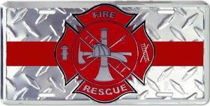 Firefighter Emblem Dia