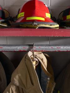 Firefighting Coat and Hat
