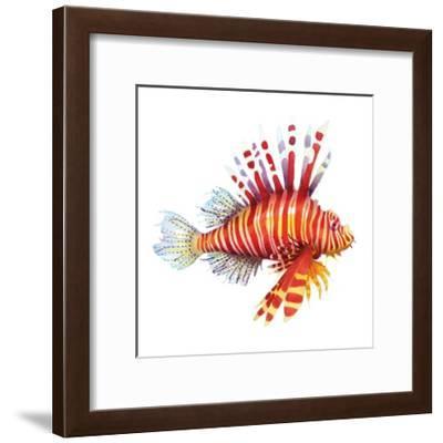 Firefish-Sam Nagel-Framed Art Print