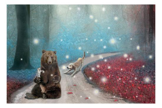 Fireflies In Heaven-Nancy Tillman-Premium Giclee Print