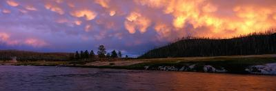 Firehole River Yellowstone National Park WY USA--Photographic Print