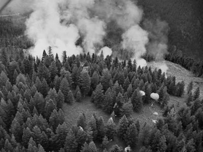 Firejumpers in Lolo National Forest-W.E. Steuerwald-Photographic Print