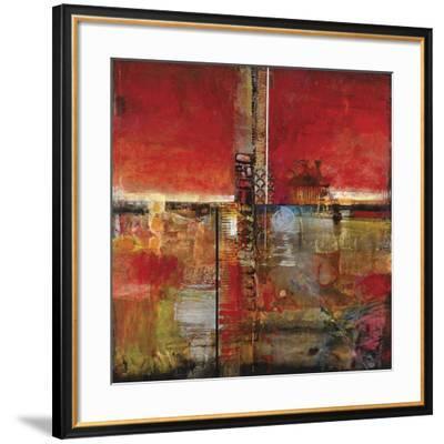 Fireline II-John Douglas-Framed Art Print