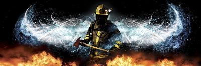 Fireman 11-Jason Bullard-Giclee Print