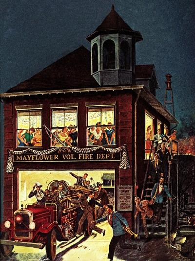 """Fireman's Ball,"" February 1, 1982-Ben Kimberly Prins-Giclee Print"
