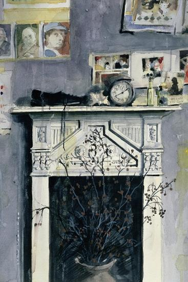 Fireplace-John Lidzey-Giclee Print