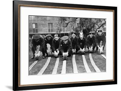 Fireservice-Fox Photos-Framed Photographic Print